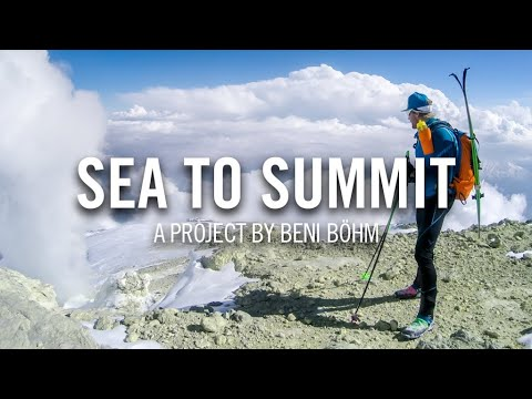 Sea to summit in Iran: From the Caspian Sea to Damavand (5,671 meters)