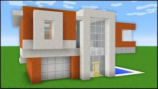 Generate INSTANT Modern Houses in Minecraft!