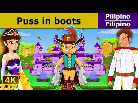 Pusa sa Boots | Kwentong Pambata | Mga Kwentong Pambata | Filipino Fairy Tales