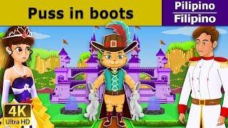 Pusa sa Boots - Puss in Boots in filipino - kwentong pambata - 4K UHD - Filipino Fairy Tales