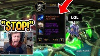 5 *CRAZY* Ninja Loot Reactions In WoW! (RAGE)