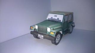 Papercraft Jeep