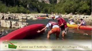 Ardèche - Dessalages dans les Gorges de l'Ardèche (part 1/3)