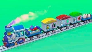 Работа Паровозика - 3D мультфильмы для самых маленьких