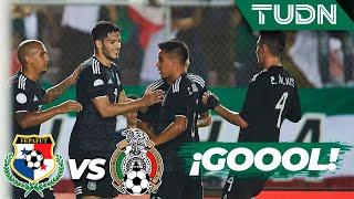 ¡Gol de México! 'El Lobo' aúlla | Panama 0 - 1 Mexico | CONCACAF Nations League - 2019  - J 5 | TUDN