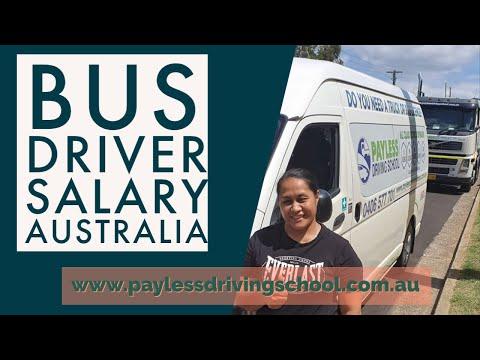Bus Driver Salary Australia, Earn Over $1500 AU