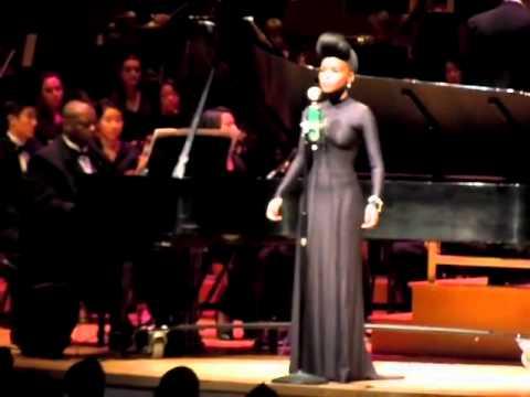 """Janelle Monáe & Emory Symphony Orchestra: """"BabopbyeYa"""" (Symphonic Version) - 10/16/10"""
