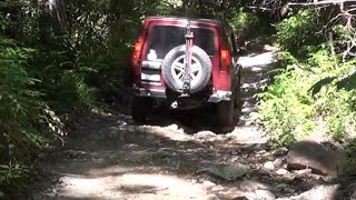 land rover adventures pt 7 hurricane creek trail clyde nc 2 of 2