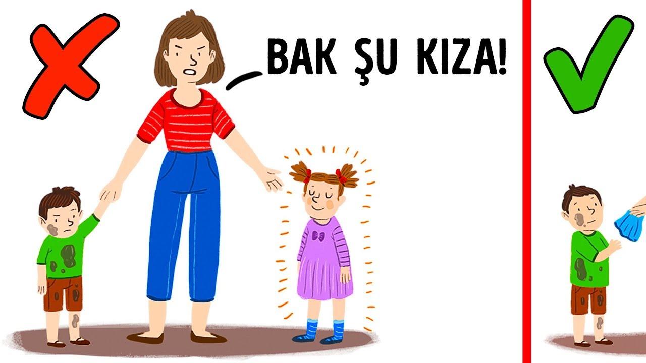 ÇOCUKLARA ASLA SÖYLEMEMENİZ GEREKEN 7 ŞEY