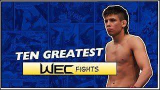 Ten Greatest WEC Fights
