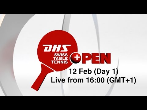 DHS Swiss Table Tennis Open Lausanne - Day 1