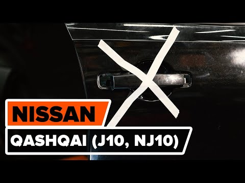 Как заменить ручку двери на NISSAN QASHQAI (J10, NJ10) [ВИДЕОУРОК AUTODOC]