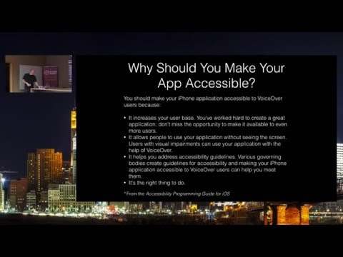 Implementing Accessibility