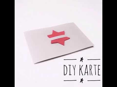 Kreative Weihnachtskarten.Diy Idee Kreative Weihnachtskarte Selbstgemacht