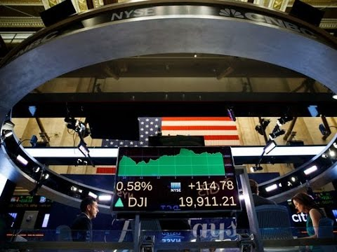 Stocks flat ahead of Fed; Dow 20,000 in reach