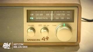 Сайт sangean АМ/ФМ аналогове радіо WR11SE огляд