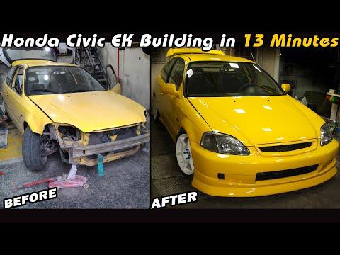 Honda Civic EK9 TypeR Replika Yapım Aşaması (13 Dakika'da!)