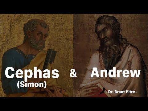 Jesus Encounters Andrew and Simon