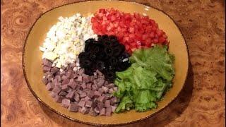 И к празднику и в обычный день! Вкусненький салат!