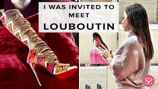 COME WITH ME - MEETING LOUBOUTIN!!!