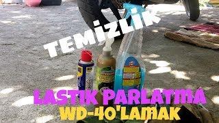HONDA CBR125R/ Zorunlu Bakım/WD40/Lastik Parlatma