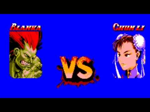 Street Fighter II (SMS) Playthrough - NintendoComplete