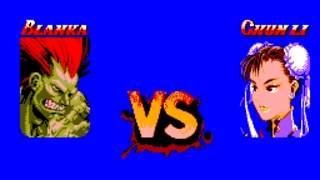 Street Fighter II (SMS) Playthrough - NintendoComplete