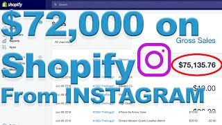 WHY I ONLY USED LARGE INSTAGRAM INFLUENCERS TO DROP SHIP $72,000 ON SHOPIFY