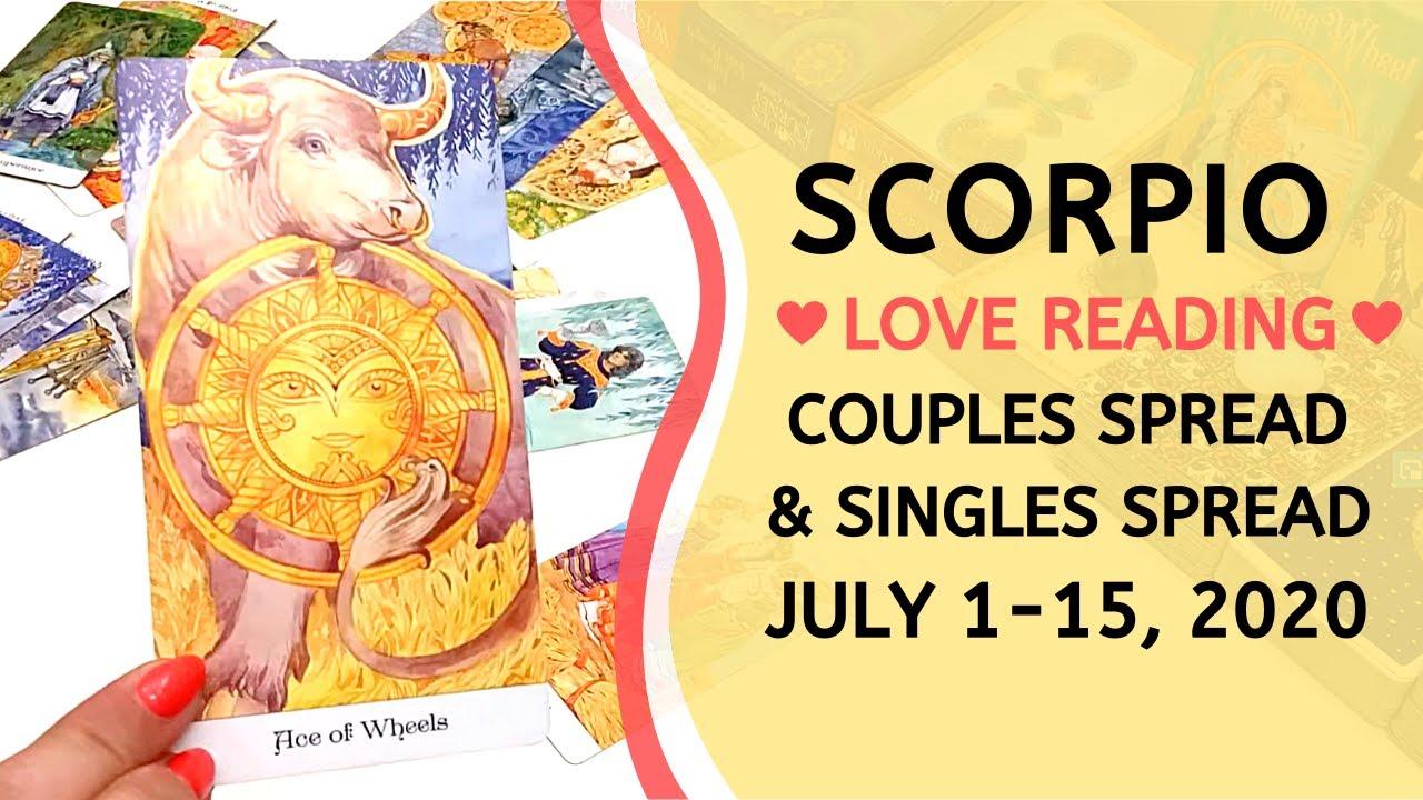 SCORPIO LOVE ❤️ ~ WON'T BE SINGLE MUCH LONGER! + SINGLES READING ~ JULY 1-15, 2020 TAROT READING