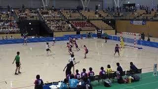 2018IH  女子ハンドボール 決勝 佼成学園女子(東京都) 対 浦添商(沖縄県)