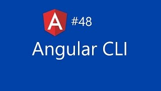 angular 2 tutorial 48 angular cli