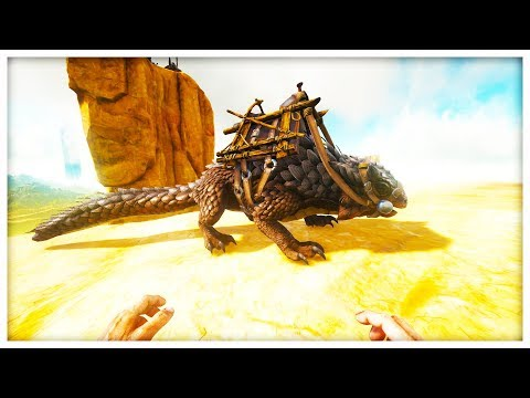 TAMING MY FIRST DRAGON - MODDED ARK SURVIVAL EVOLVED SCORCHED EARTH #6
