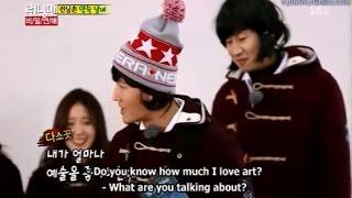 Funny Female Image By Jong Kook & Kwang Soo - RUNNING MAN EP 181