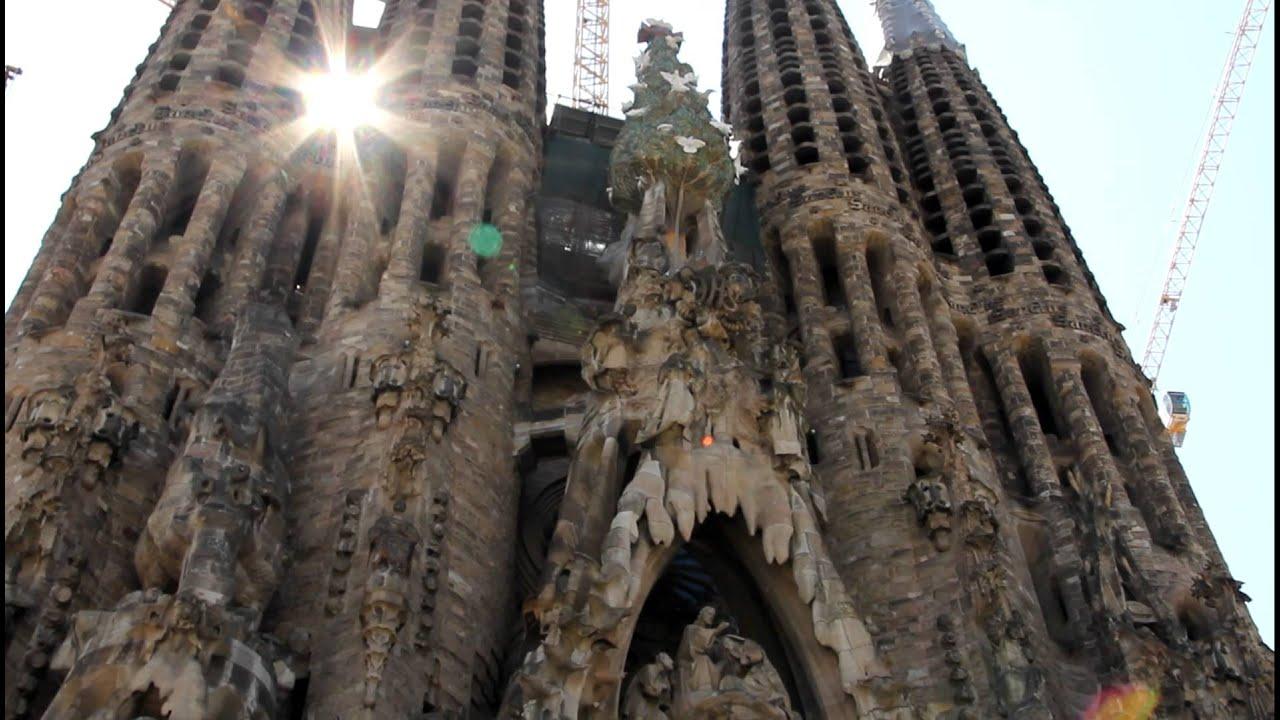 фото собор гауди в барселоне
