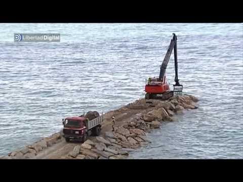 Gibraltar proyecta construir una urbanización de lujo en el mar