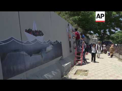 "Security walls turn Afghan capital into ""prison"""