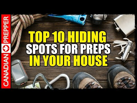 Best Places to Hide Prepping Supplies in Your House from YouTube · Duration:  16 minutes 13 seconds
