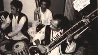 bandish in raag jaijaiwanti on sitar by nikhil banerjee