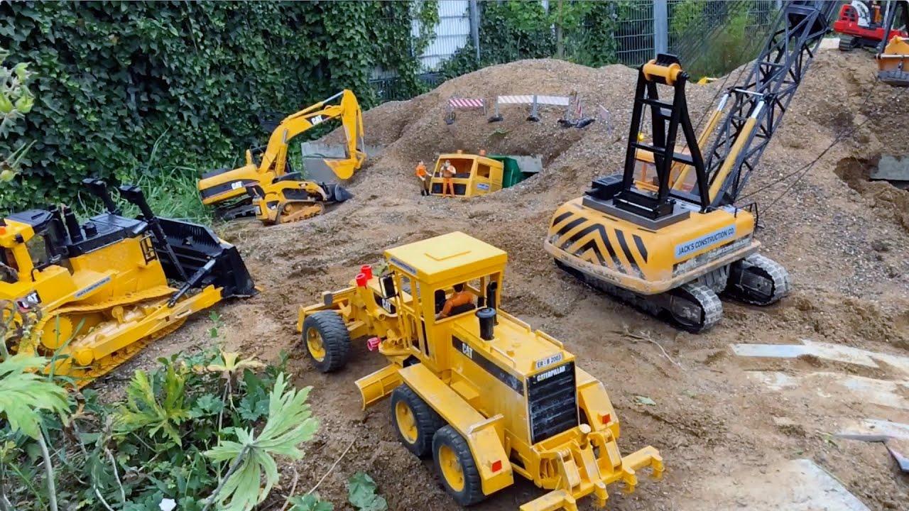 bruder toys for children bruder excavator in jack's bworld