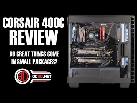 Corsair 400C Compact ATX Case Review