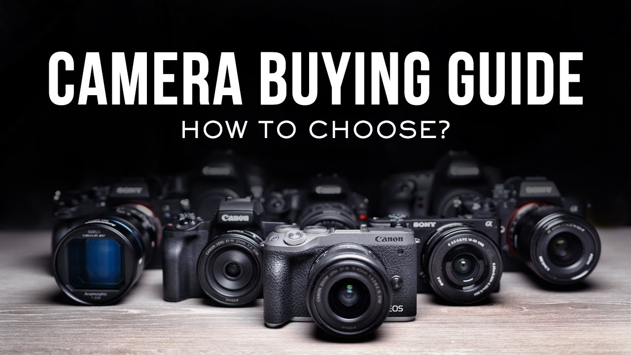 ULTIMATE 2021 Camera Buying Guide!