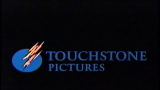 Touchstone Pictures (1996) Company Logo 2 (VHS Capture)