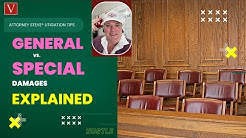What's the difference between General vs. Special vs. Punitive Damages?