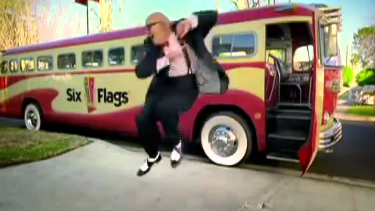 6 Flags Old Man Dancing