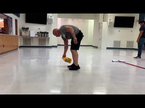Part 2 VCT tile maintenance. Vlm cleaning. #carpettime.