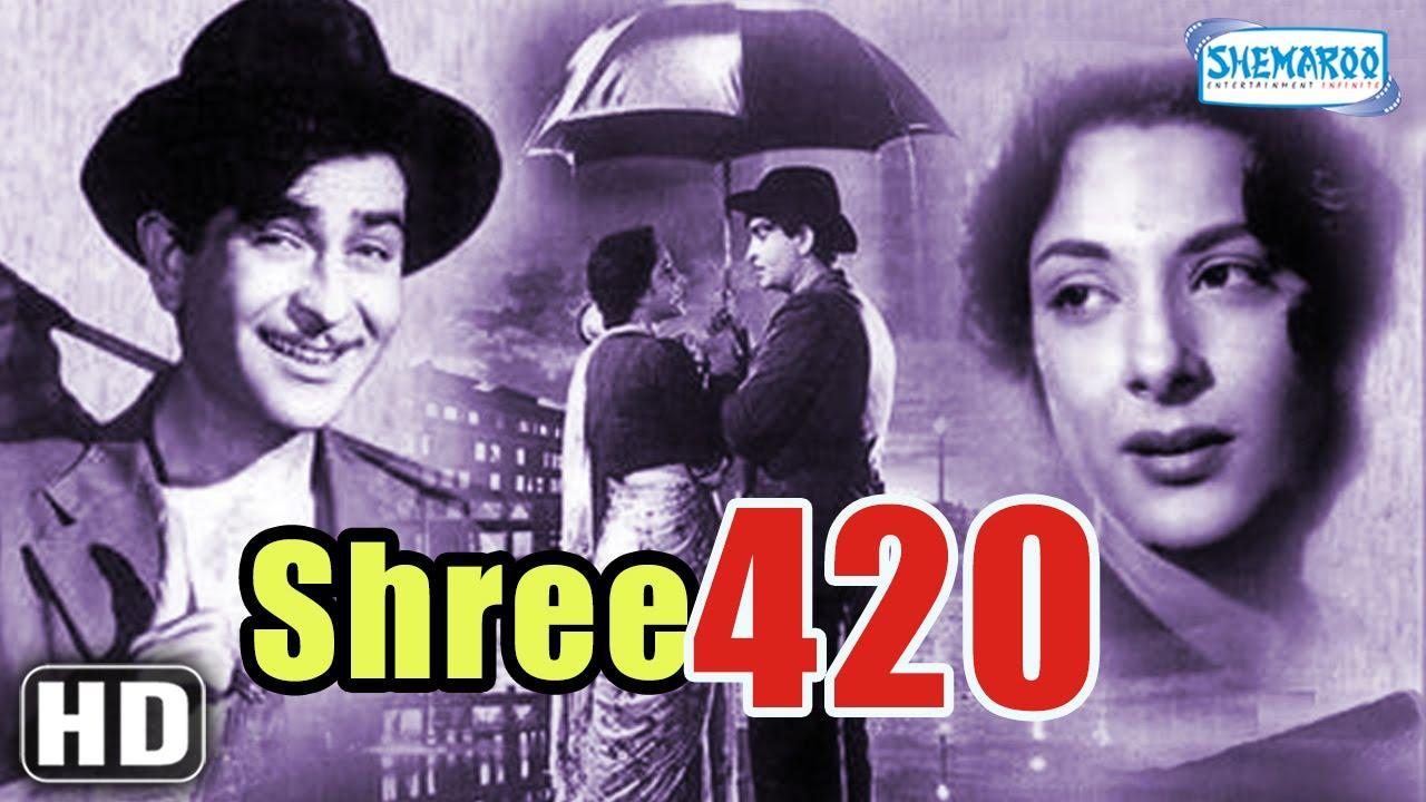 Shree 420  Superhit Comedy Film  Raj Kapoor  Nargis