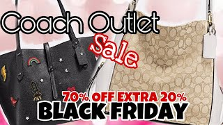 Coach Outlet Handbags Shopping Black Friday Sale Online and in Coach Outlet store