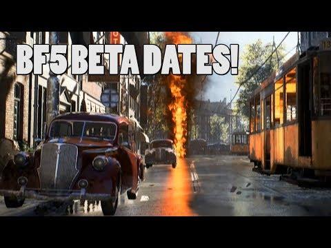Battlefield 5 Beta Date Announced!