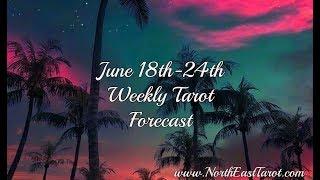 Libra Weekly Tarot Forecast June 18th-24th
