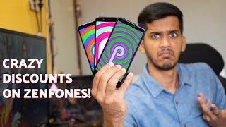 Asus OMG sale! Crazy discounts on Zenfones! Max Pro M1, Lite L1 at just 4,999
